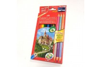 Ecomatite colorate Faber-Castell